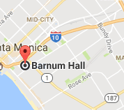 Map and directions to Barnum Hall